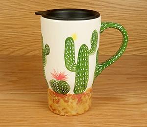 Costa Rica Cactus Travel Mug