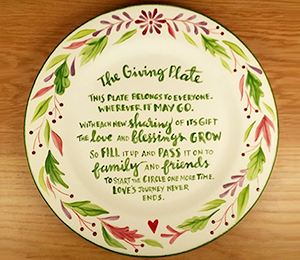 Costa Rica The Giving Plate