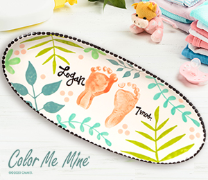 Costa Rica Tropical Baby Tray