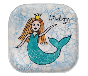 Costa Rica Mermaid Plate