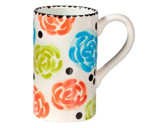 Costa Rica Simple Floral Mug