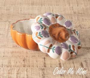 Costa Rica Floral Pumpkin Box