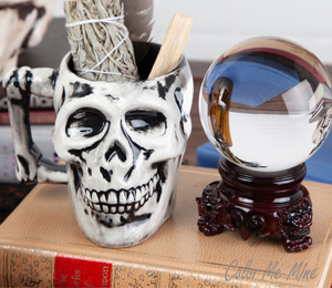 Costa Rica Antiqued Skull Mug