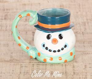 Costa Rica Snowman Mug