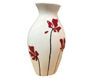 Costa Rica Flower Vase
