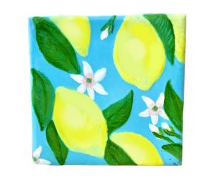 Costa Rica Lemon Square Tile