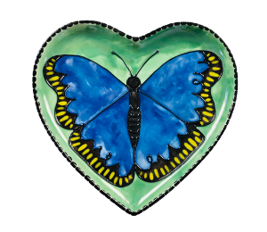 Costa Rica Butterfly Plate