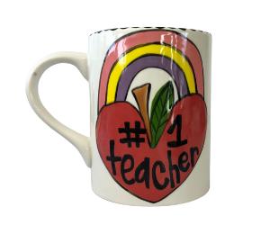 Costa Rica Rainbow Apple Mug